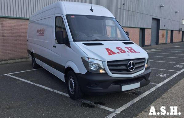 Long Wheel Base Mercedes Sprinter