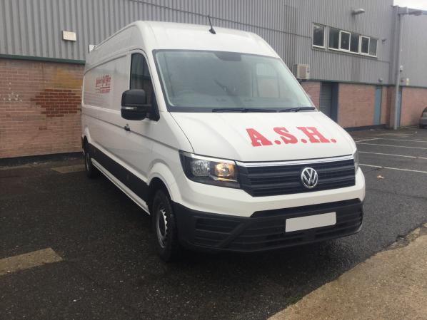 VW Crafter LWB Hi Roof
